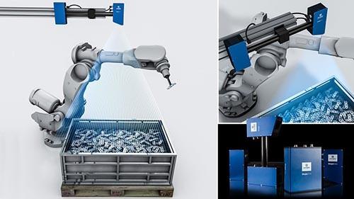 ShapeDrive 3D Sensors Bin Picking